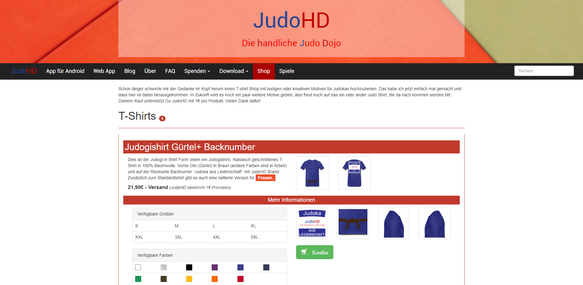 JudoHD Shirt- Shop [1/2]